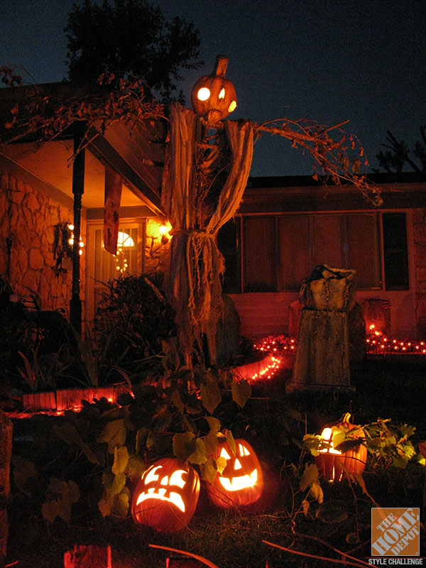 Diy halloween decorations from the shadow farm.