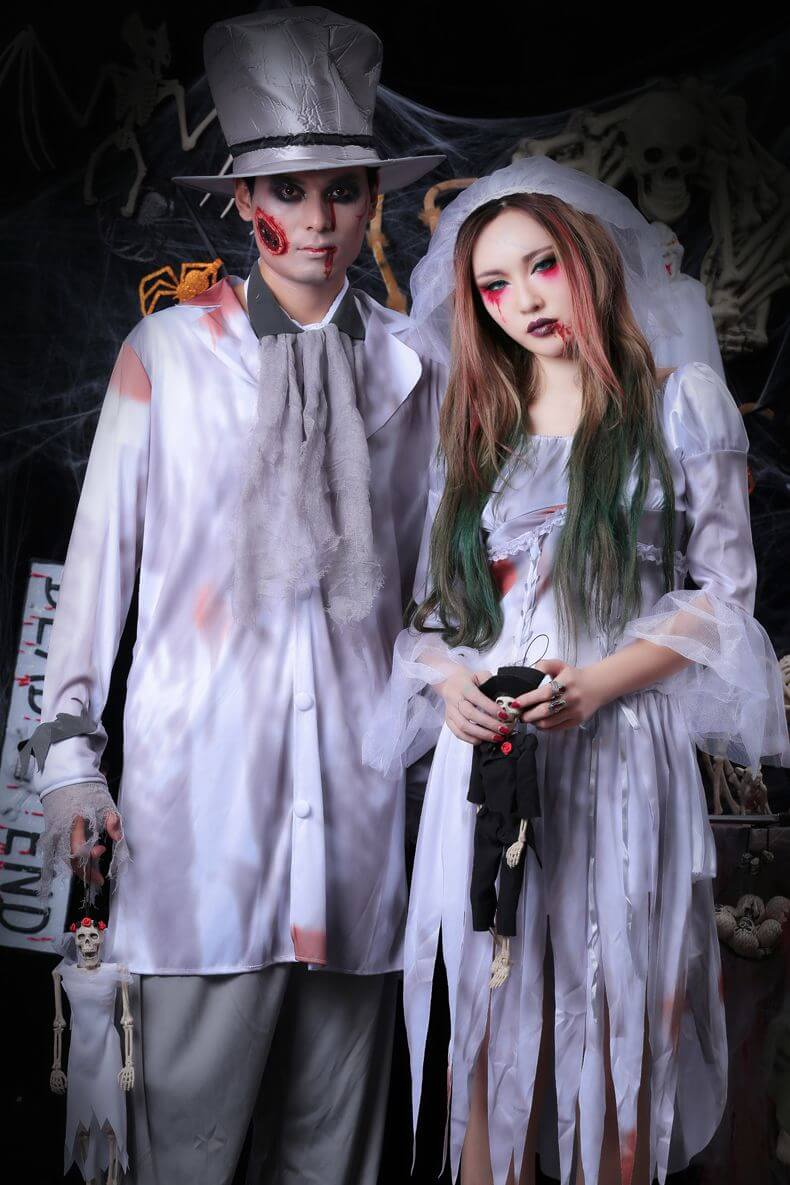Halloween Costumes For Couples Scary.67 Halloween Costumes For Couples That Are Funny And Spooky