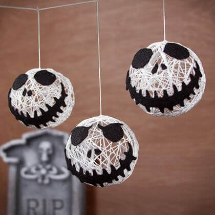 Jack skellington Halloween string garland.