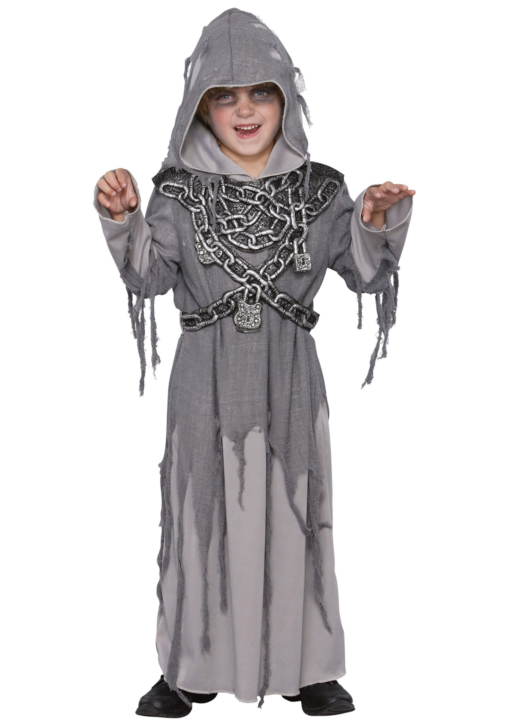 kids-restless spirit scary ghost costume for halloween