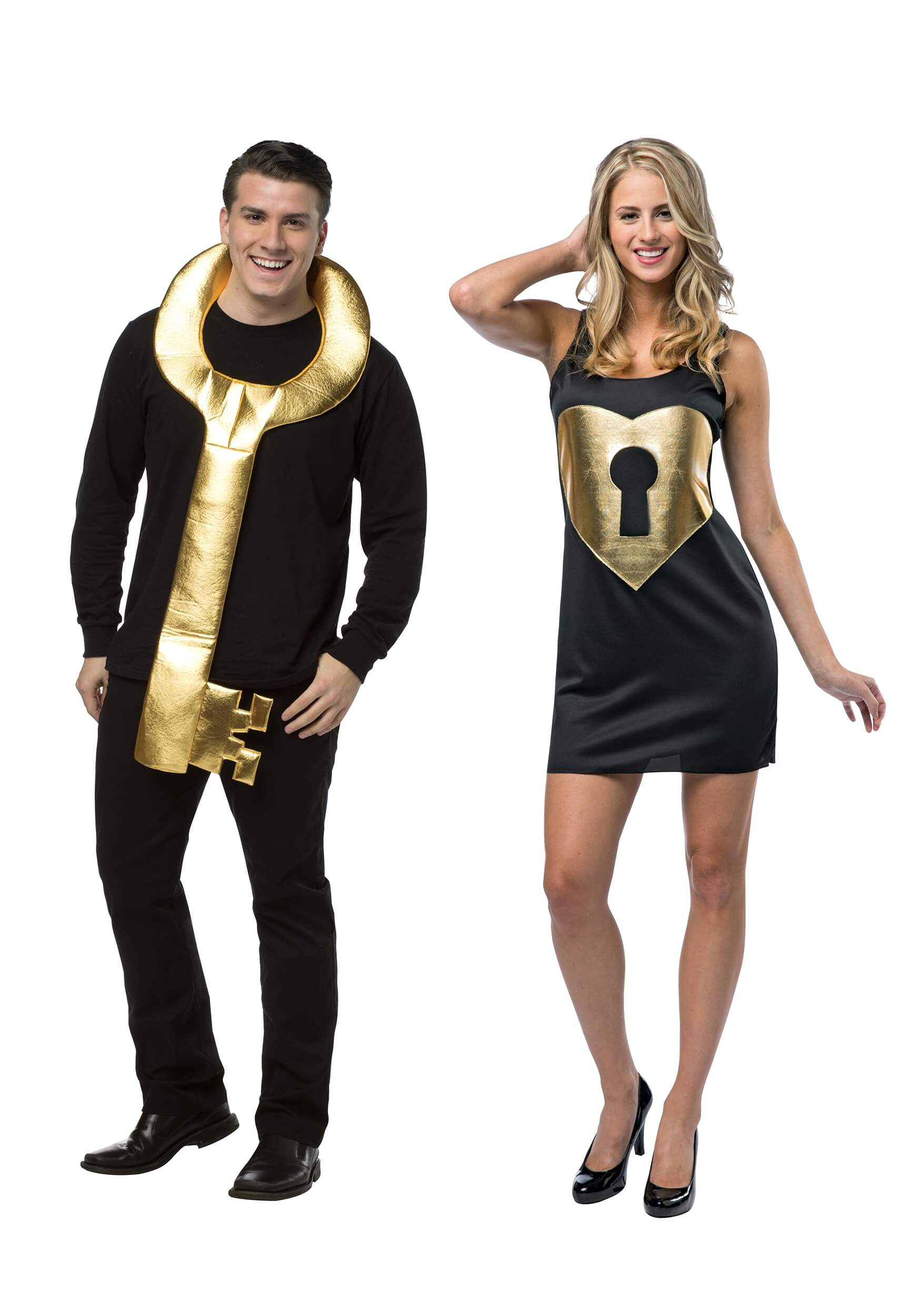lock and key Halloween costumes for couples funny