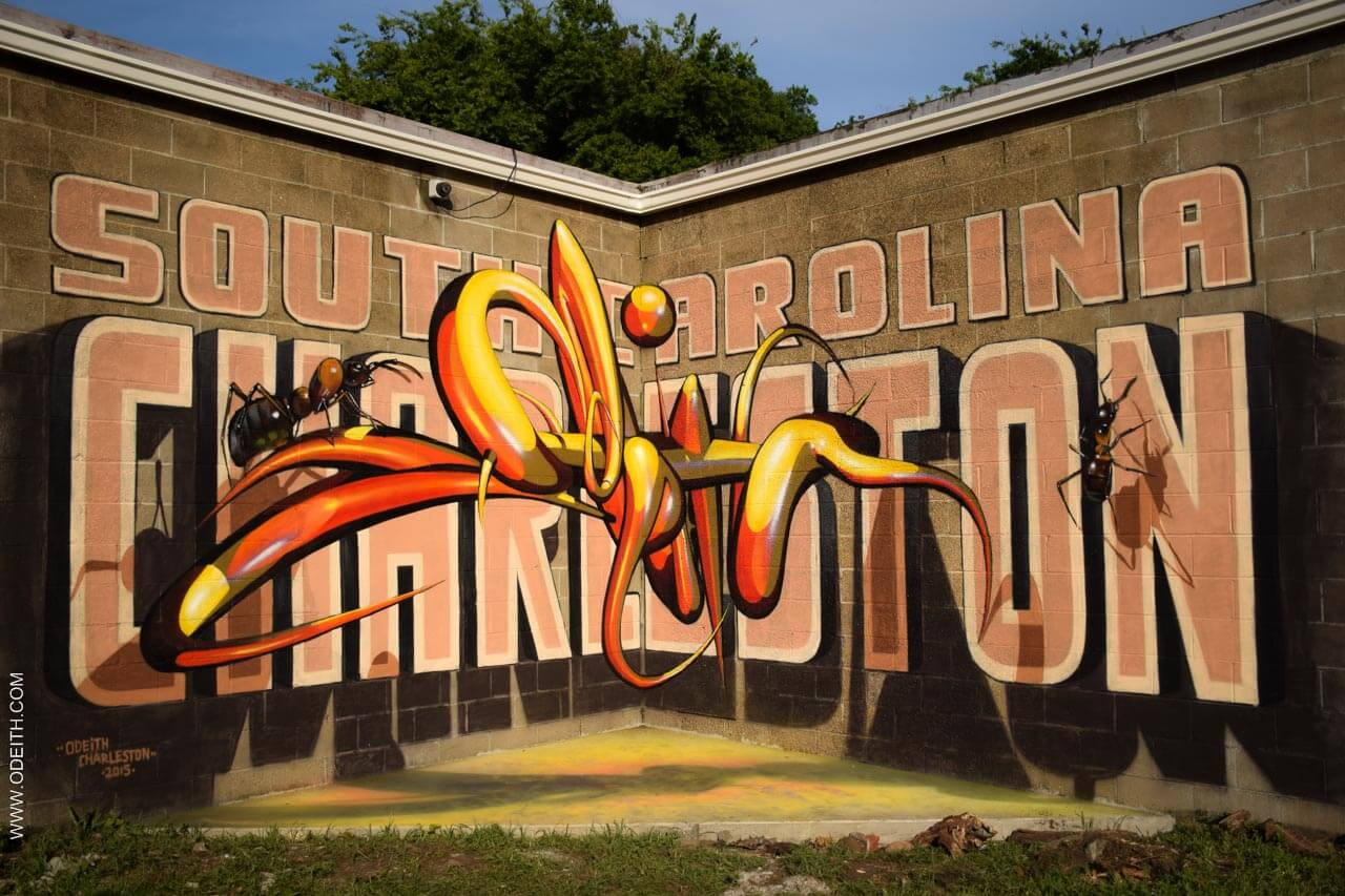 Best 3D paintings By Odeith