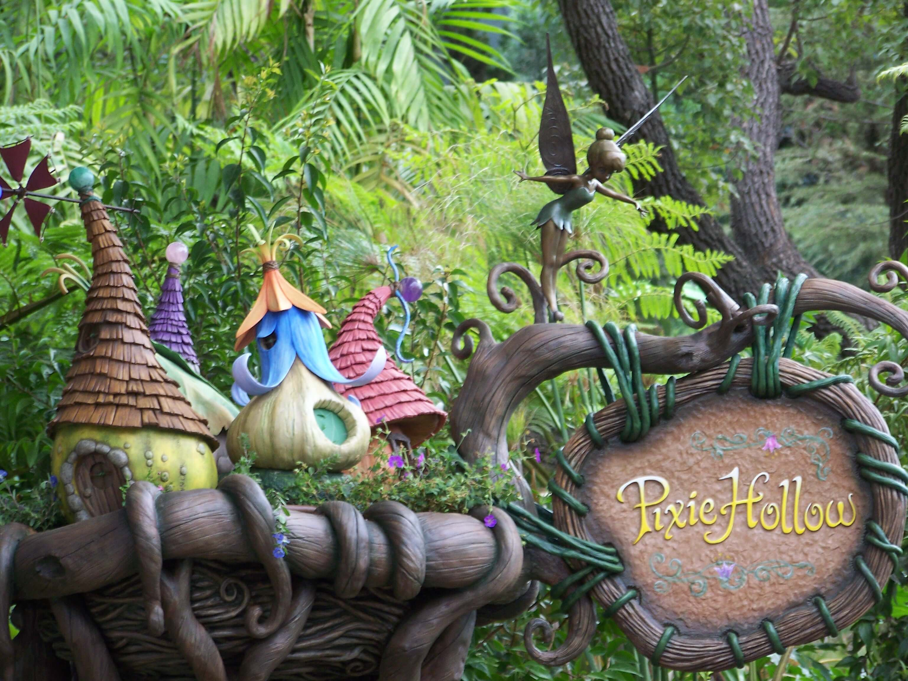 pixie hollow Things to do in disneyland