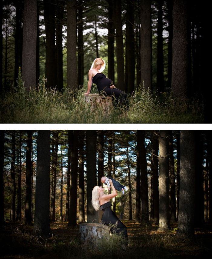 Creative, Adorable and Fun Maternity Photo Ideas