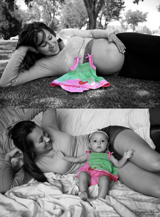 Adorable and Fun Maternity Photo Ideas