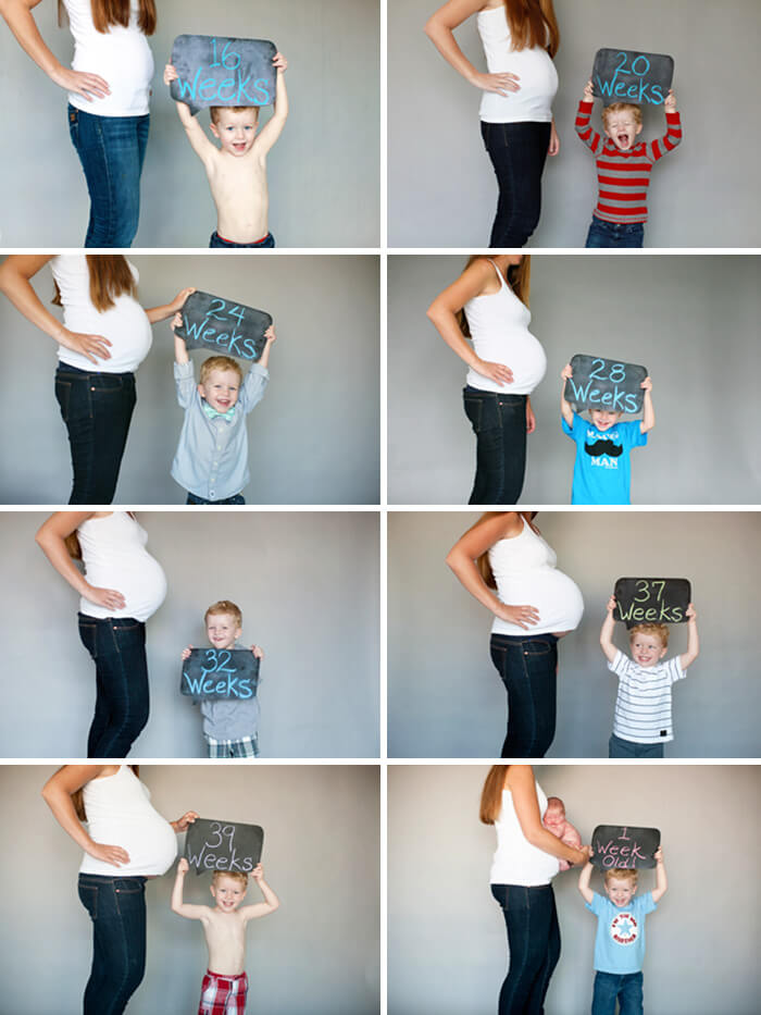 maternity photo ideas with siblings