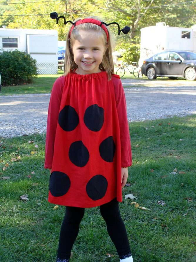 pretty lady bug costume for halloween
