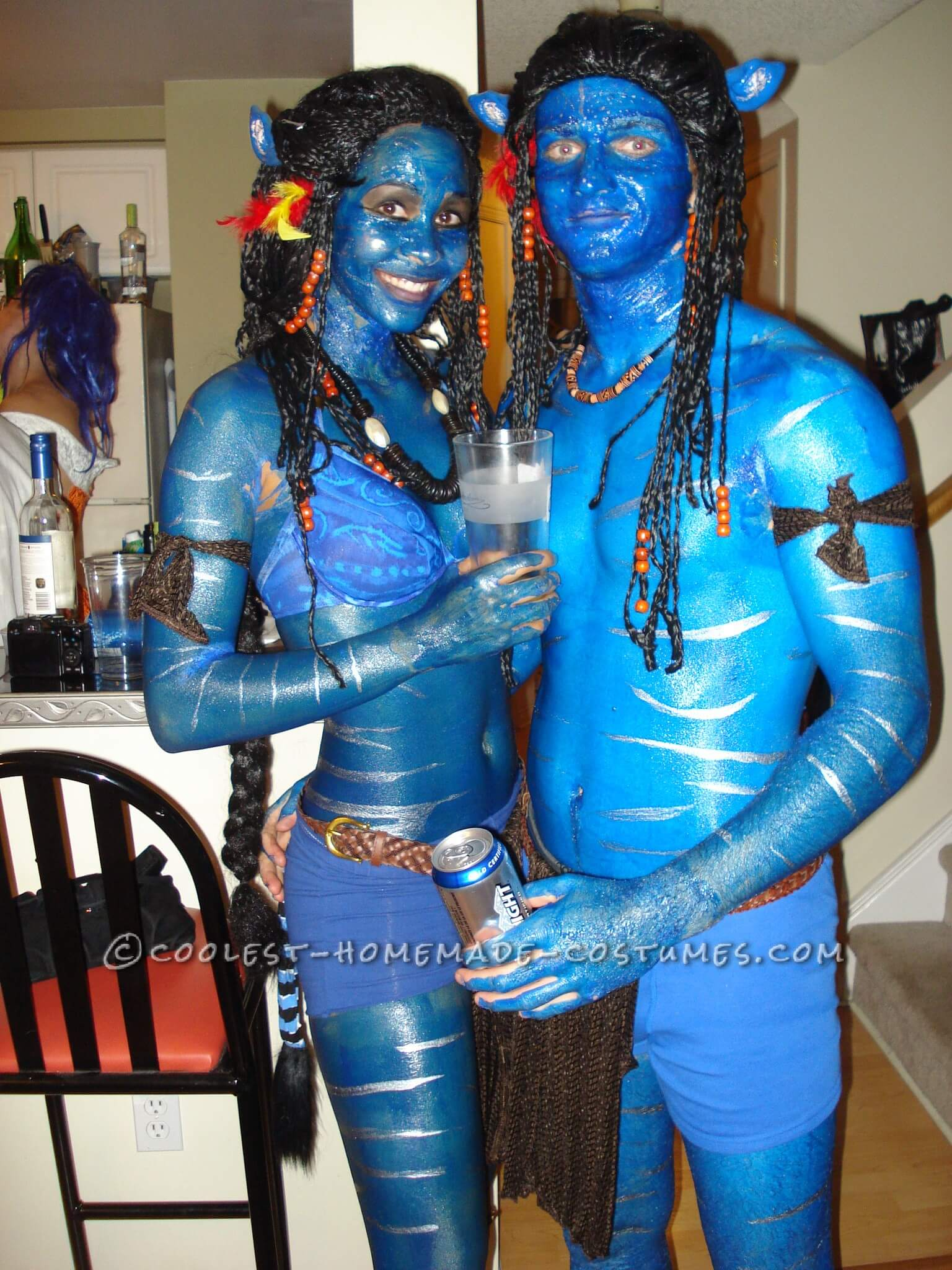 real life avatars Halloween costumes for couples funny