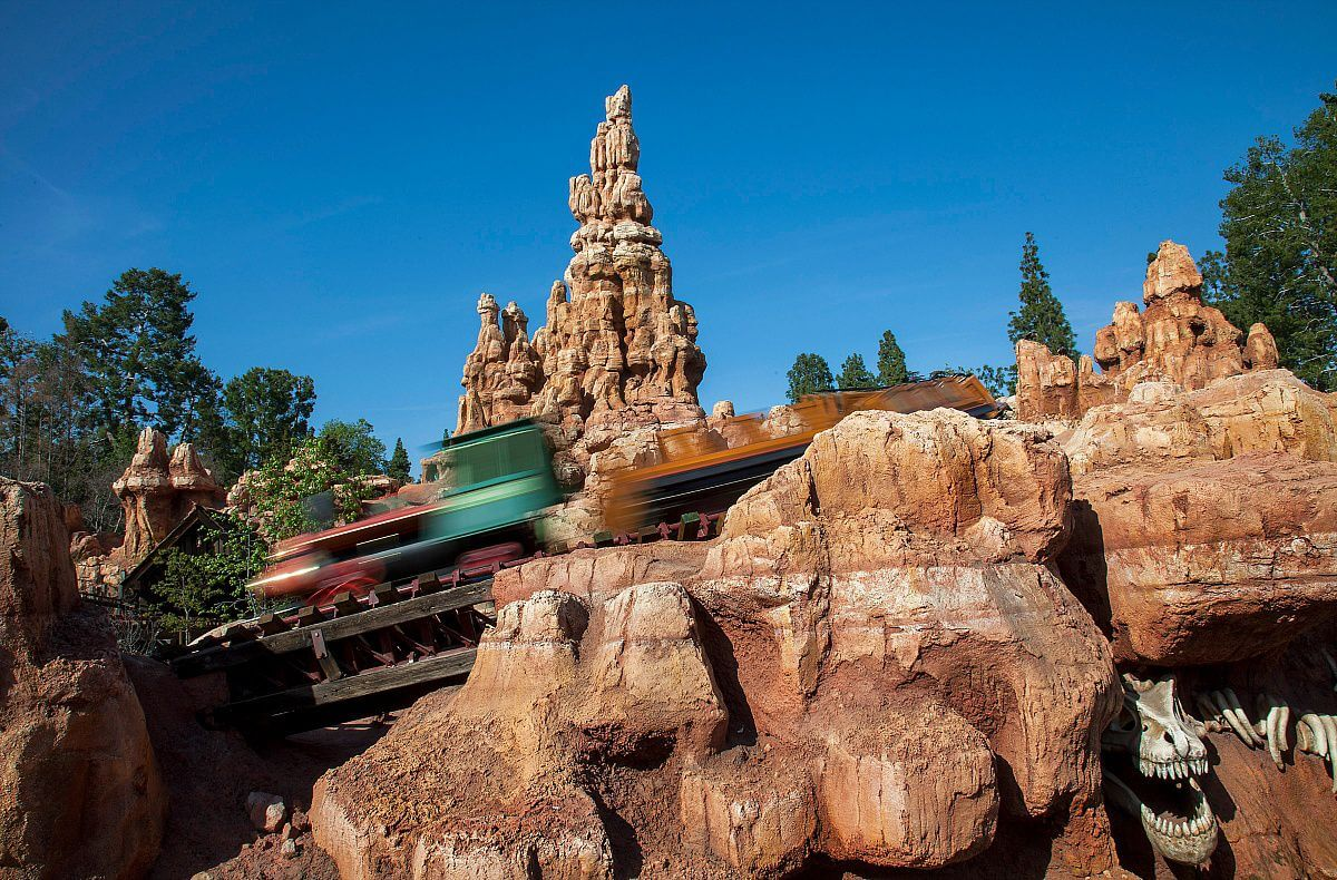 scariest rides big thunder mountain railroad Things to do in disneyland