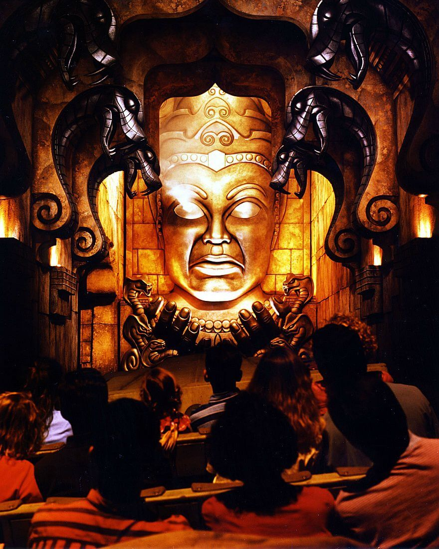 scariest rides indiana jones Things to do in disneyland