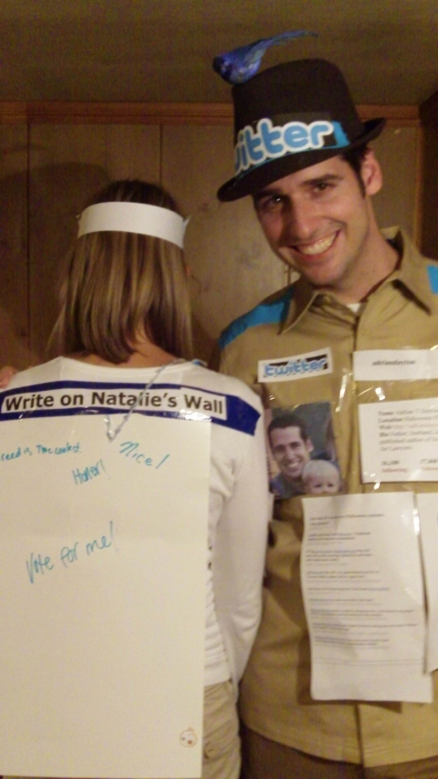 social media couple funny halloween costume for couple