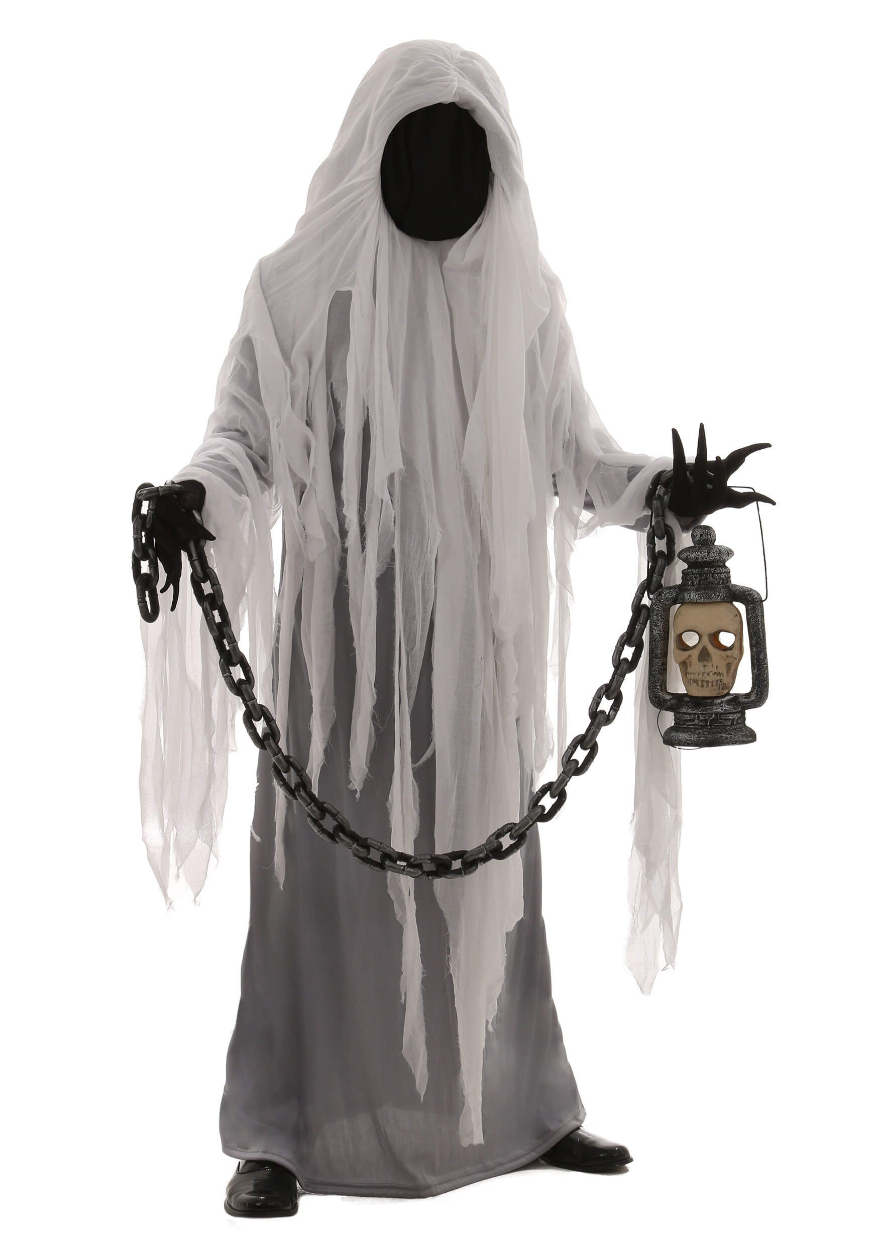 spooky ghost costume for halloween