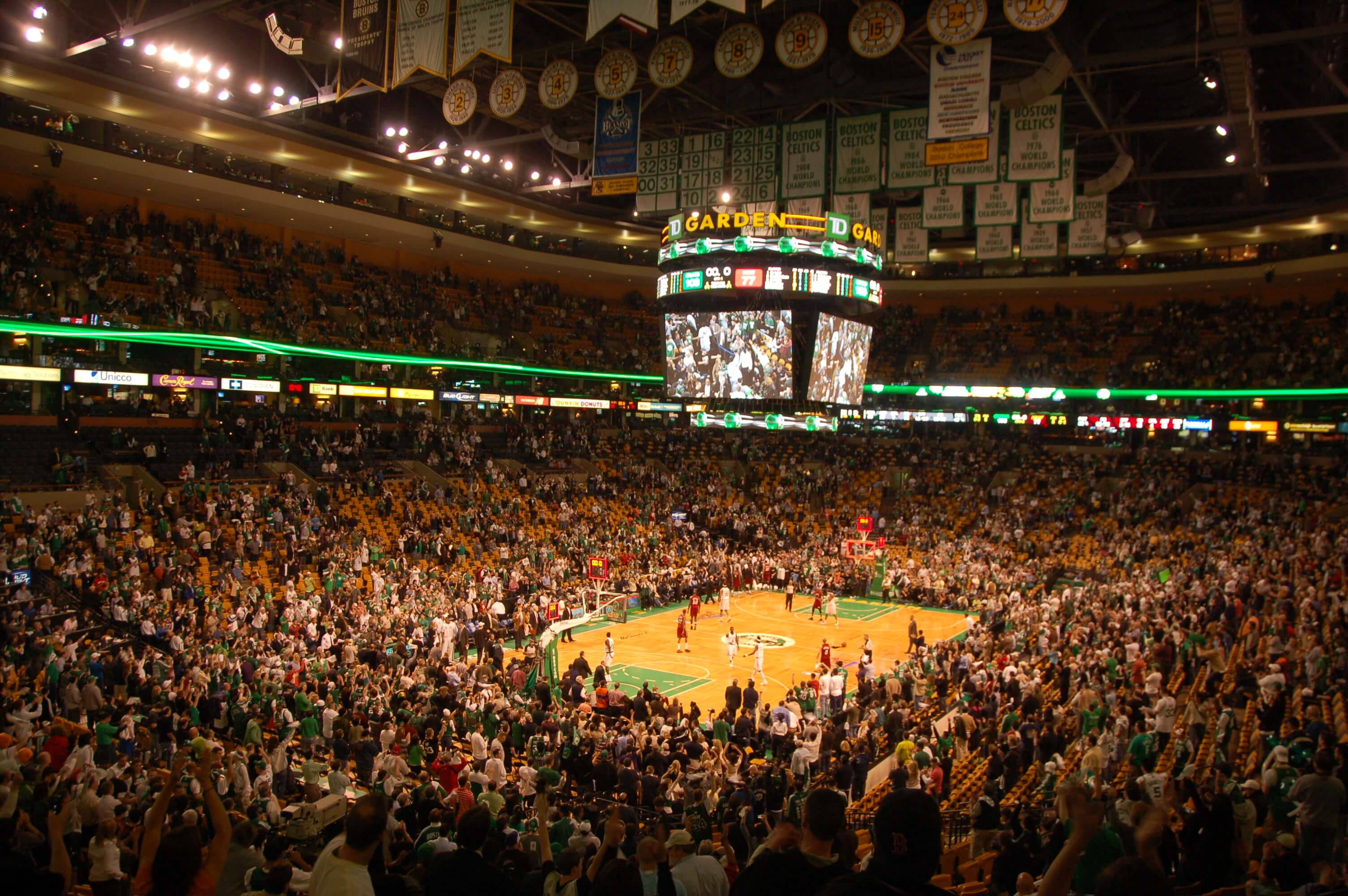 td garden Things to do in Boston