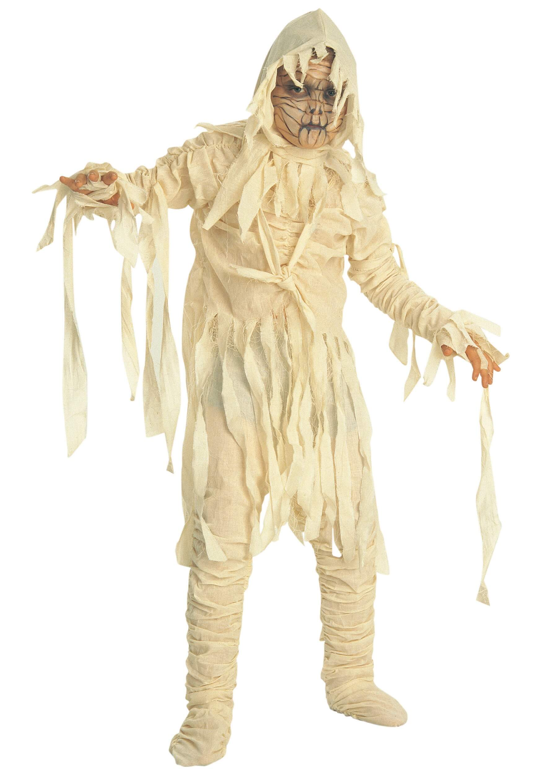 the mummy boys costume for halloween