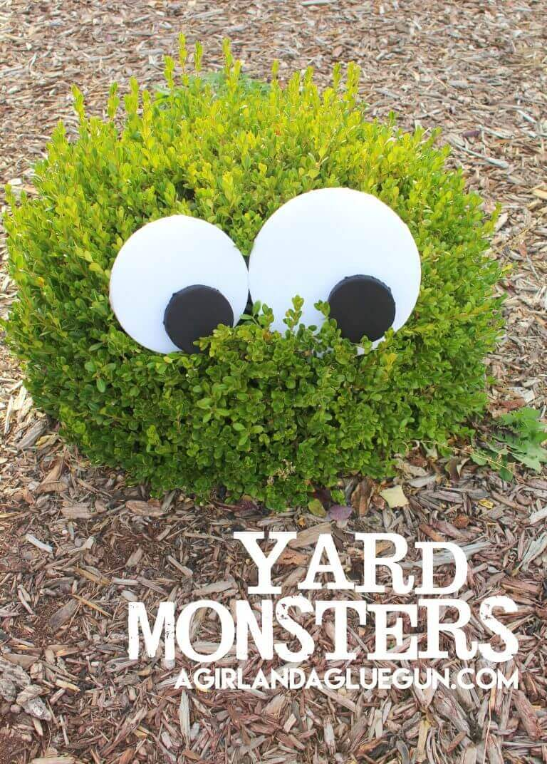 Yard monsters!