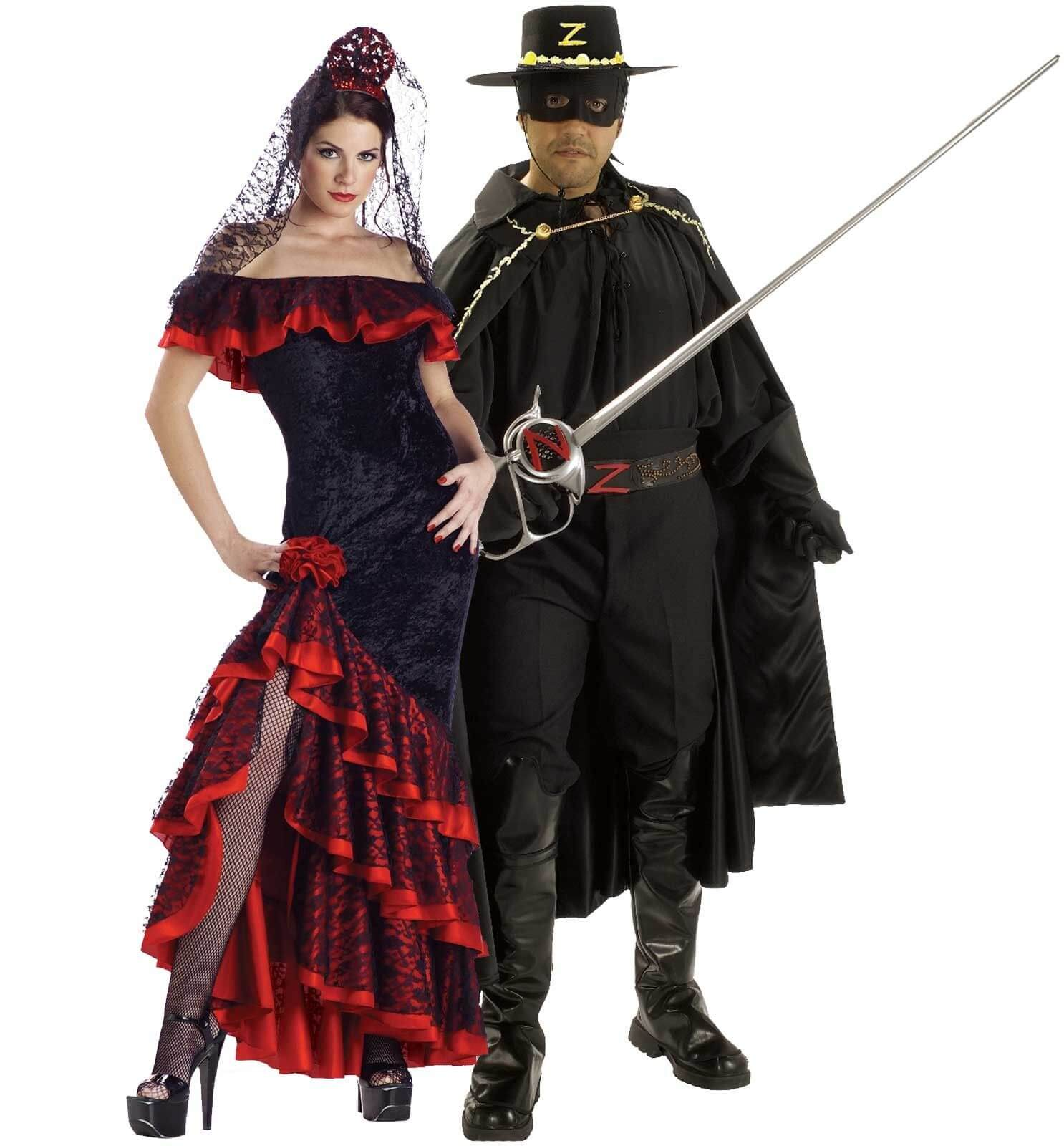 zorro elena Halloween costumes for couples funny
