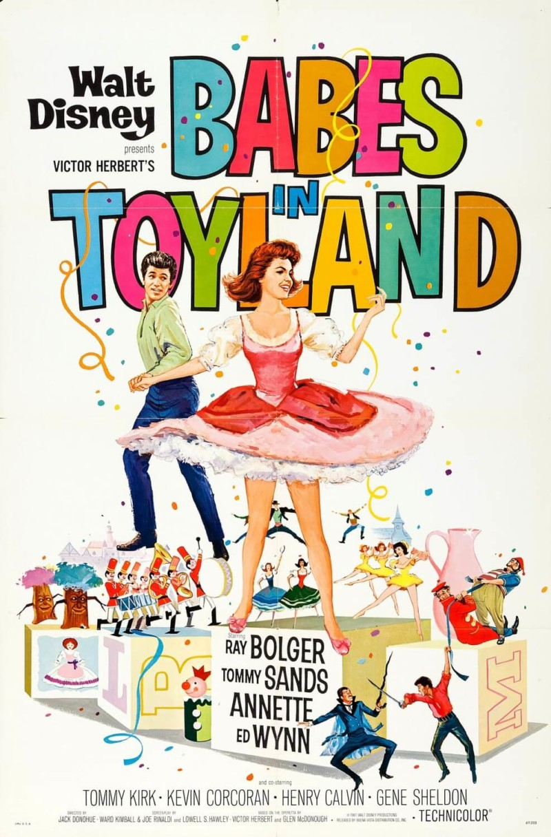Babes in Toyland (1961) by Disney Christmas Movies