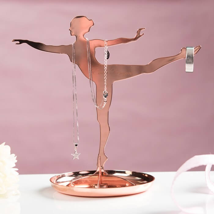 Ballerina Jewellery Stand Christmas Gifts for Girlfriend