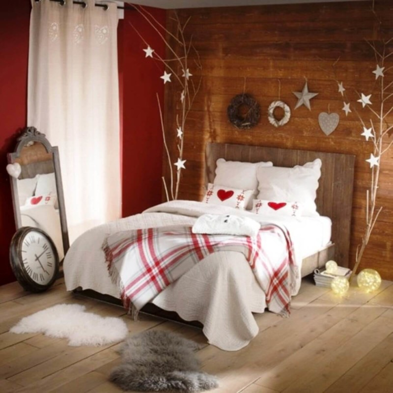 Bedroom Christmas decorations ideas for home