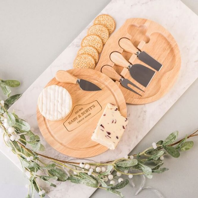 Cheeseboard set Christmas Gifts for Girlfriend