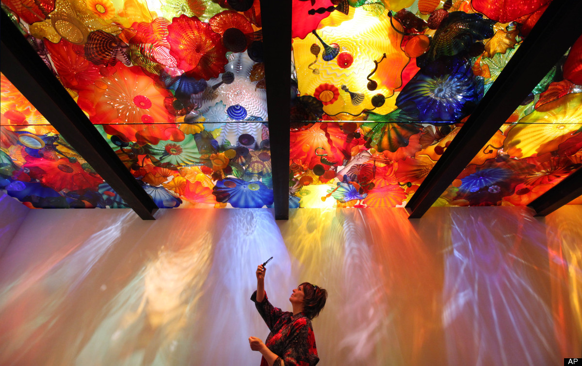 Chihuly Garden and Glass Things to do in Seattle