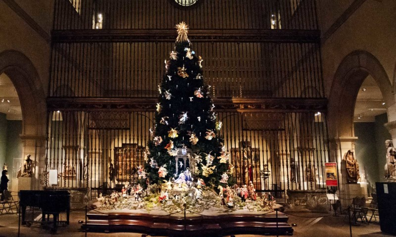 Christmas Tree at the Met Christmas in New York
