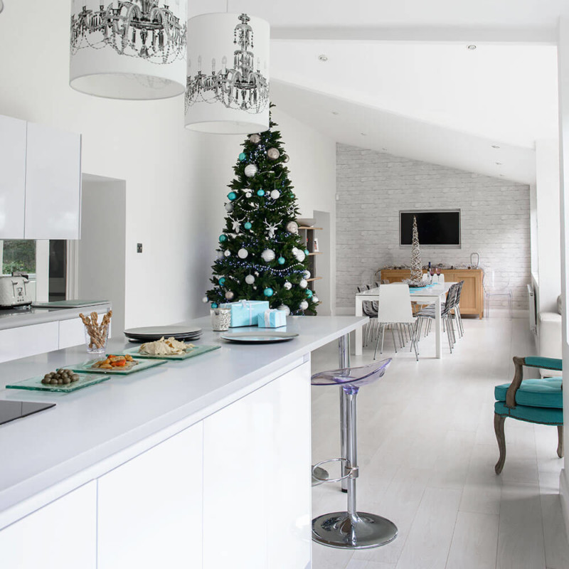 Christmas kitchen decorating ideas trees Christmas decorations ideas for home