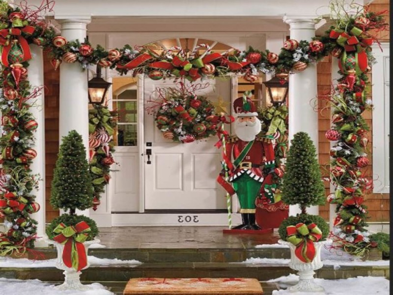 Classic christmas decoration Christmas decorations ideas for home