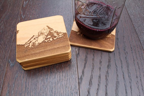 Coaster set Christmas gifts for mom