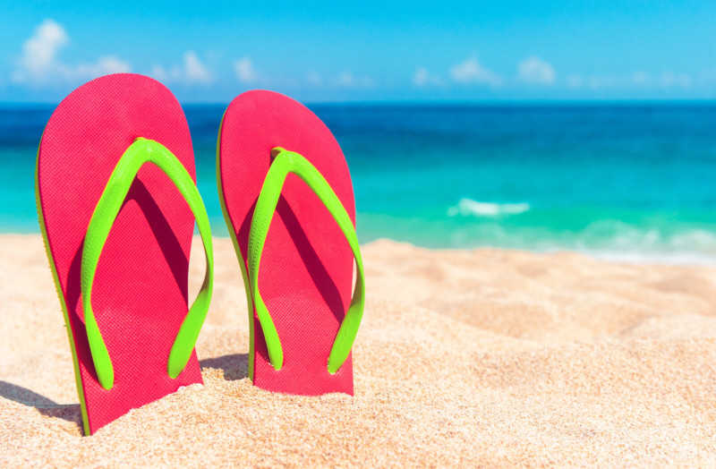 Flipflops Things to Pack for Every Solo Traveller