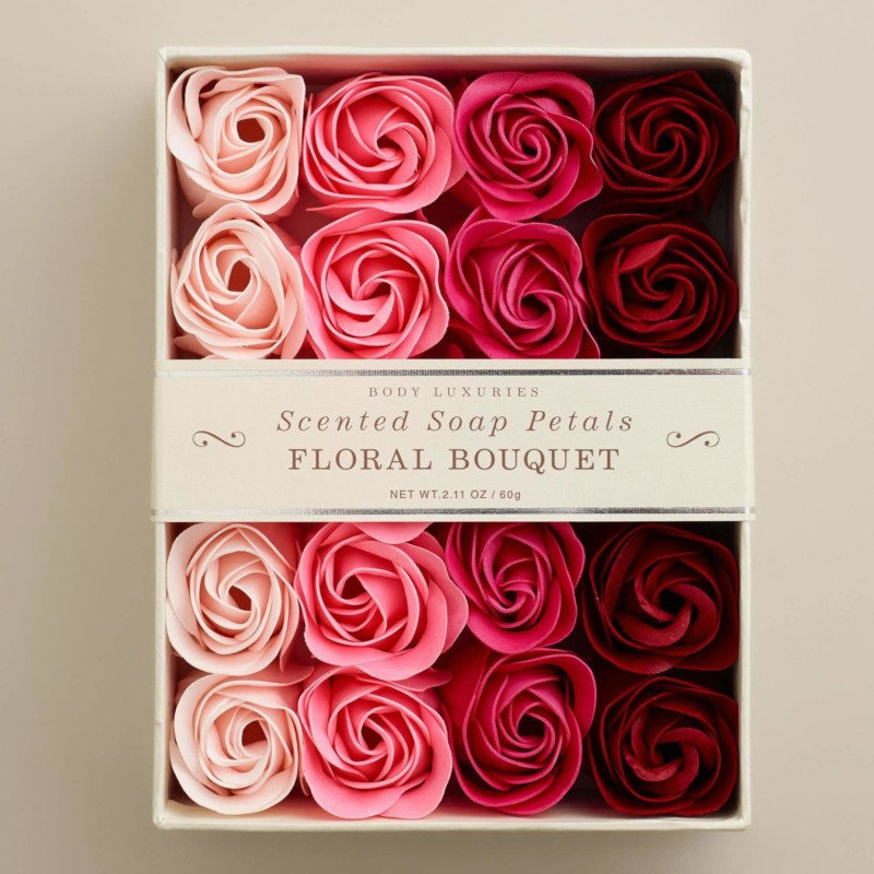 Floral Bouquet Soap Petals Christmas gifts for mom