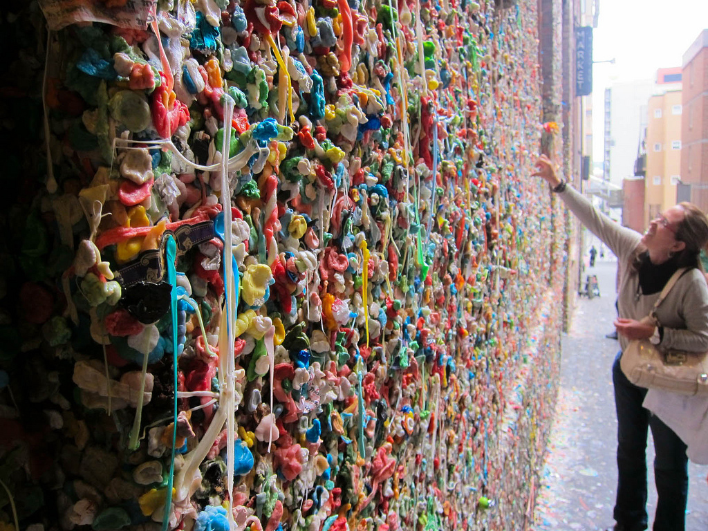 Gum Wall Things to do in Seattle
