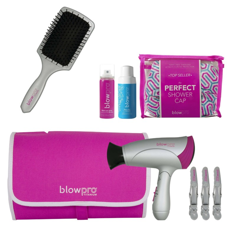 Hairbrush, Comb, Hair Gel, Spray Things to Pack for Every Solo Traveller