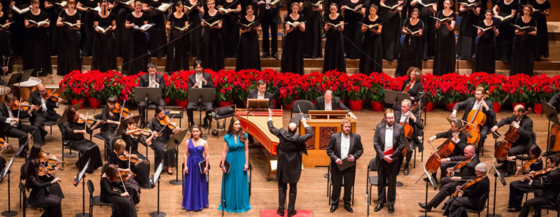 Handel's Messiah at the New York Philharmonic Christmas in New York