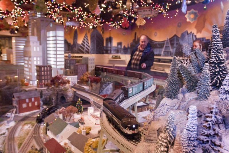 Holiday Train Show Christmas in New York