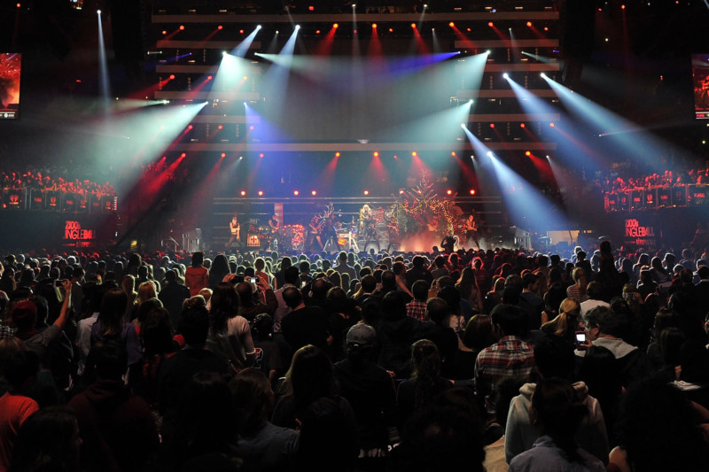 Jingle Ball Concert at Madison Square Garden Christmas in New York