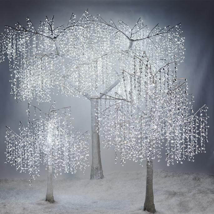 Lights Crystal Tree Christmas Decorations on Sale