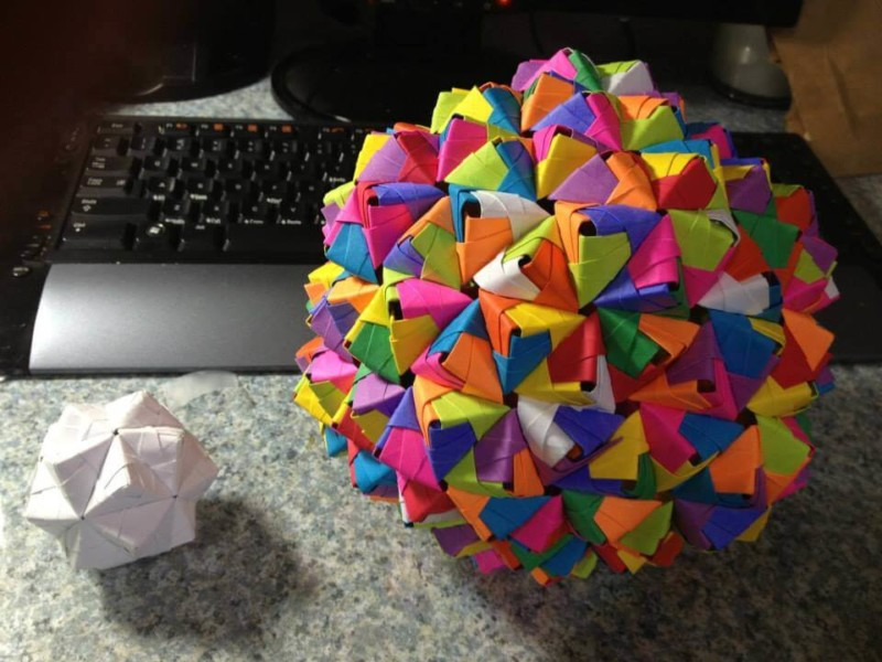 Oragami Bored At Work