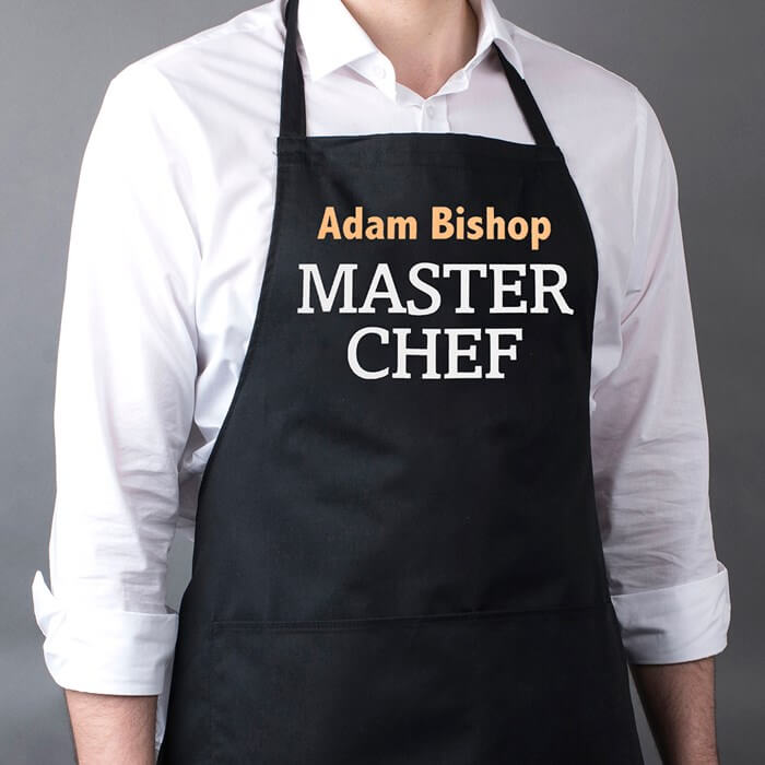 Personalised Apron Christmas Gift for Boyfriend