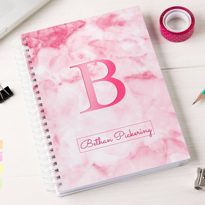 Personalised NoteBook Christmas Gifts for Girlfriend
