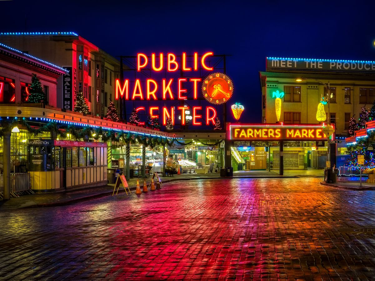 Pike Place Market Things to do in Seattle