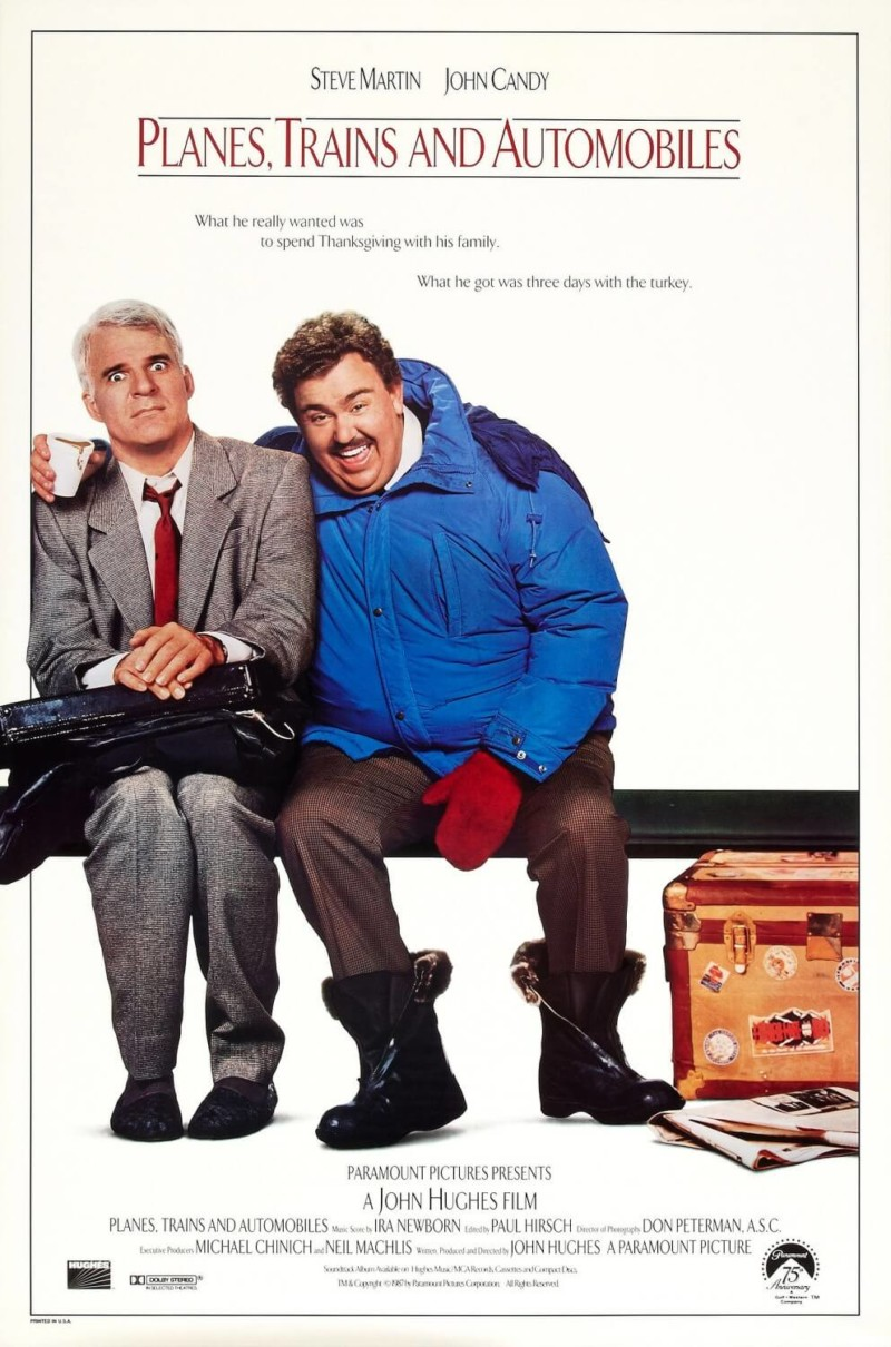 Planes, Trains, and Automobiles Christmas Movies