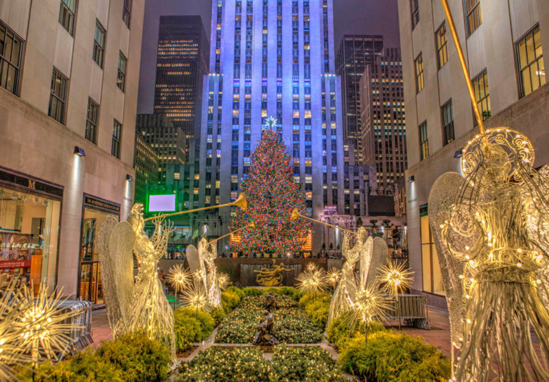 Rockefeller Center Christmas Tree Christmas in New York