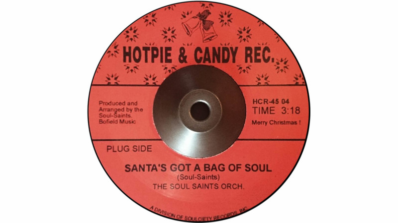 Santa's Got A Bag Of Soul Soul-Saints Orchestra Christmas Songs