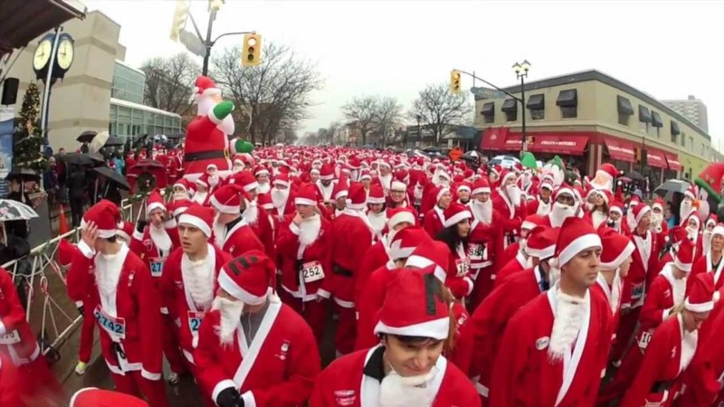Santa Suit 5K Christmas in New York