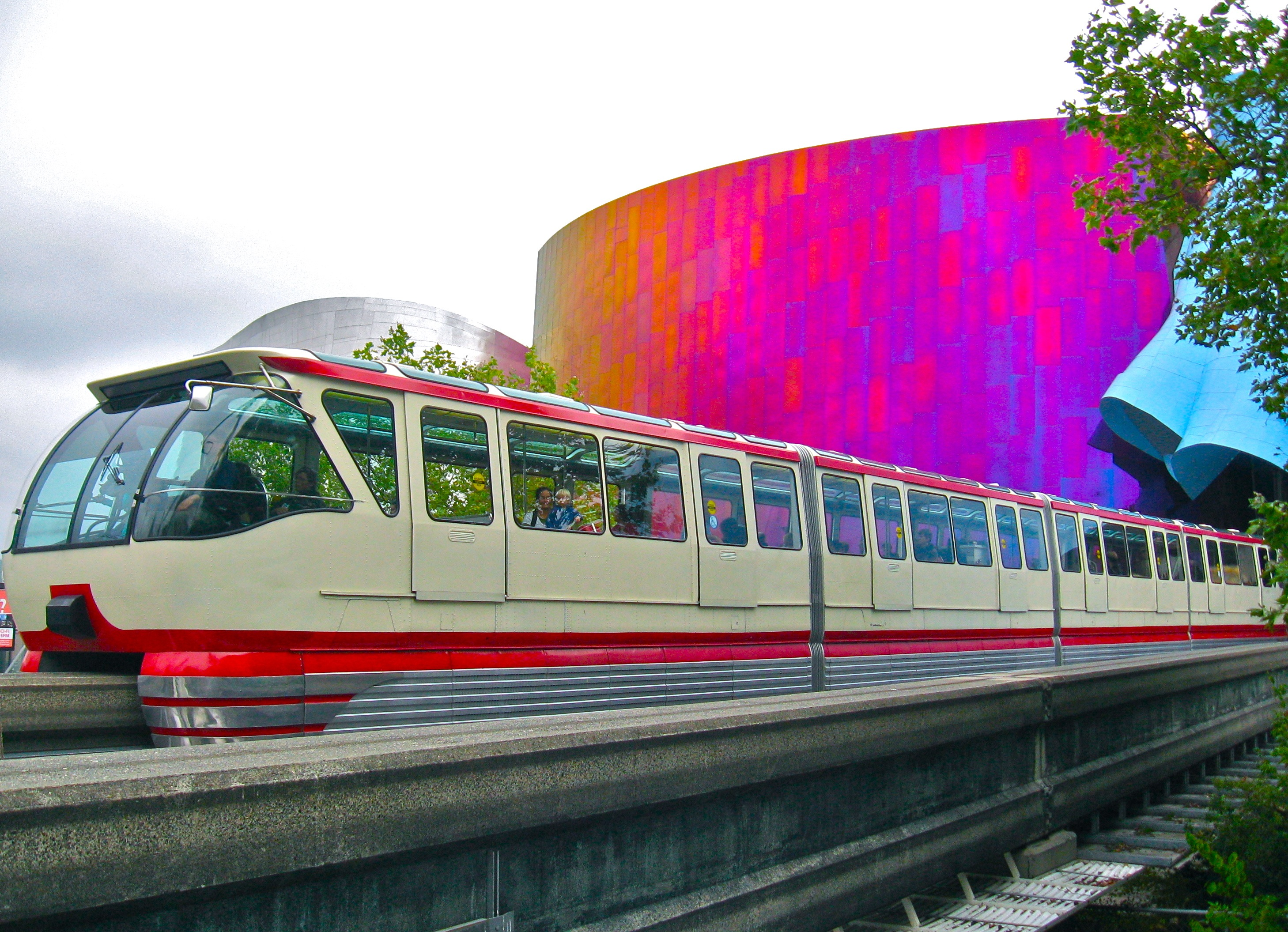 Seattle Center Monorail Things to do in Seattle