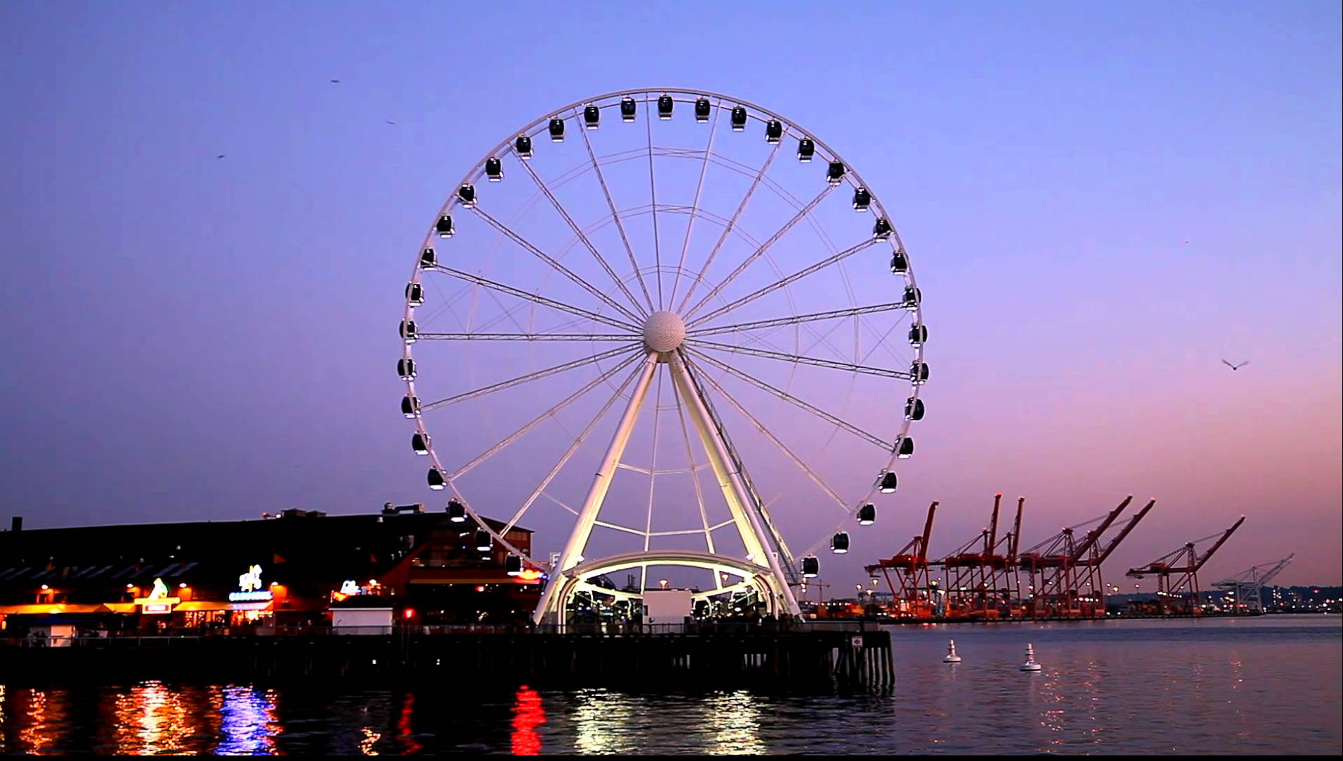 Seattle Great Wheel Things to do in Seattle