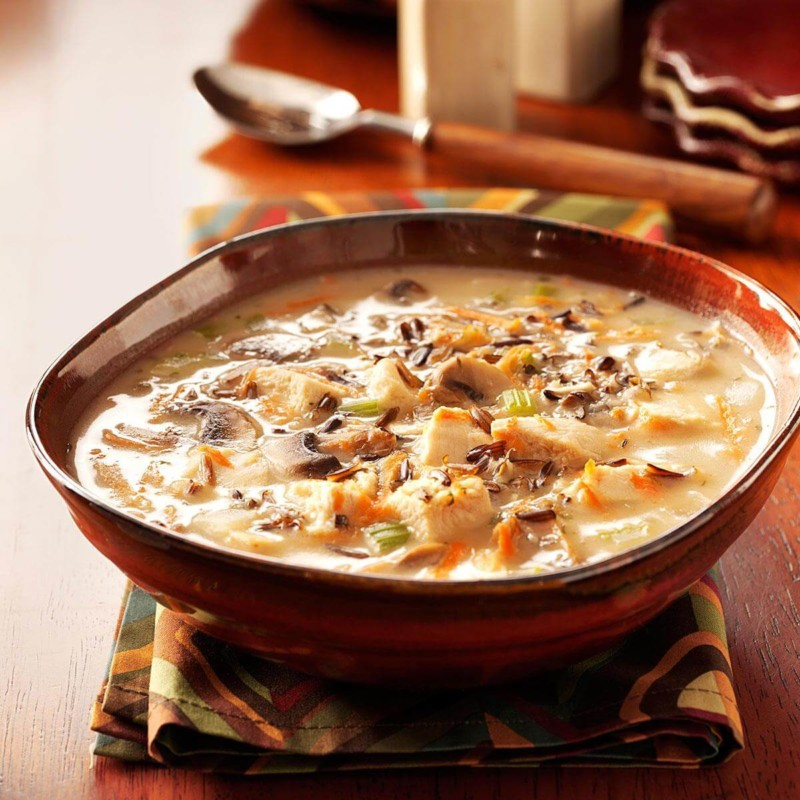 Soup Chicken Wild Rice Soup Christmas Food Ideas