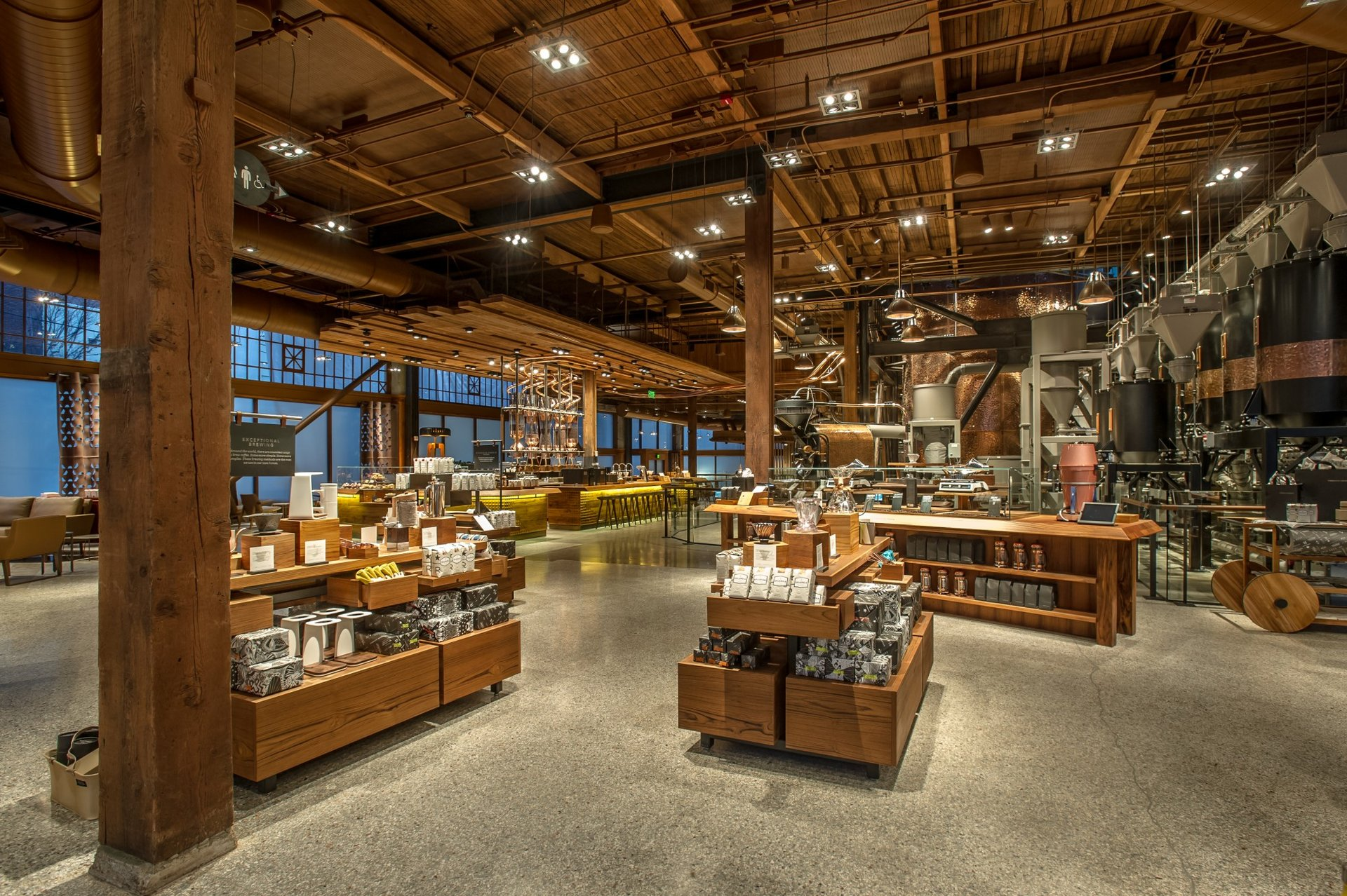 Starbucks Reserve Roastery & Tasting Room Things to do in Seattle