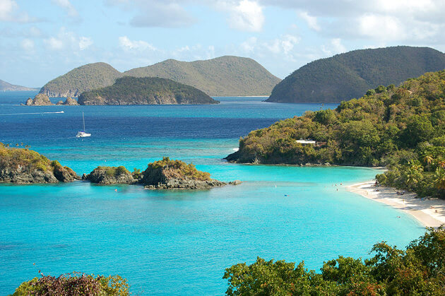 US Virgin Islands Best Caribbean Islands to visit